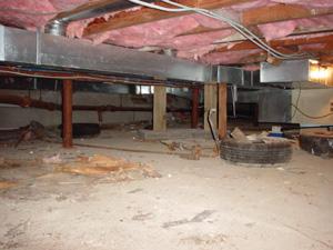Crawl Space Winterization Buffalo Crawl Space Insulation