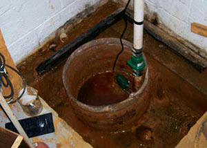 Extreme clogging and rust in a Alden sump pump system