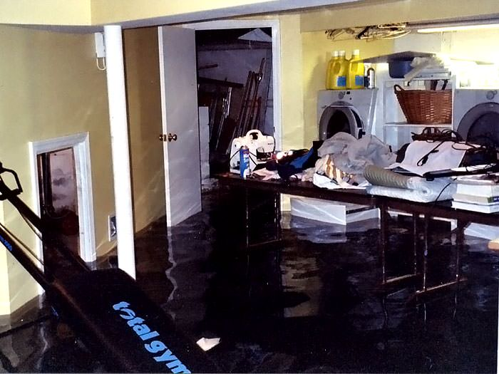 Basements flooding from plumbing failures buffalo clarence east a laundry room flood in angola with several feet of water flooded in solutioingenieria Image collections