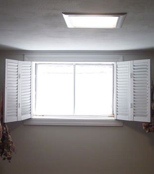 Basement Window installed in Springville, Western New York